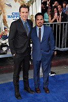 Dax Shepard &amp; Michael Pena at the premiere for &quot;CHiPS&quot; at the TCL Chinese Theatre, Hollywood. Los Angeles, USA 20 March  2017<br /> Picture: Paul Smith/Featureflash/SilverHub 0208 004 5359 sales@silverhubmedia.com