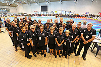 Officals.  Swimming New Zealand Aon National Age Group Championships, Wellington Regional Aquatic Centre, Wellington, New Zealand, Saturday 20 April 2019. Photo: Simon Watts/www.bwmedia.co.nz