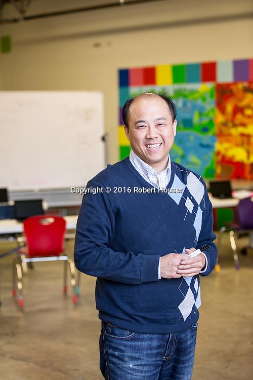 Portrait of Bryant Wong - CTO - Summit Schools