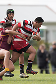 Counties Manukau Under 16 vs King Country rugby game played at Karaka Sports Park on Saturday August 26th 2017. Counties Manukau won the game 27 - 10 after leading 12 - 3 at half time.<br /> Photo by Richard Spranger
