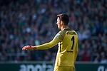 15.04.2018, Weser Stadion, Bremen, GER, 1.FBL, Werder Bremen vs RB Leibzig, im Bild<br /> <br /> <br /> Jiri Pavlenka (Werder Bremen #1)<br /> Foto &copy; nordphoto / Kokenge