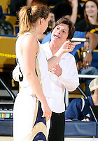 Florida International University Head Coach Cindy Russo during the game against Western Kentucky University.  FIU won the game 60-56 on January 28, 2012 at Miami, Florida. .