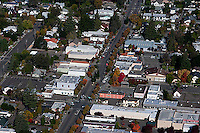 aerial photograph Cloverdale Sonoma County, California