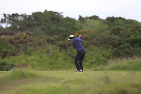 Beatrice Wallin (SWE) on the 7th tee during Round 3 Matchplay of the Women's Amateur Championship at Royal County Down Golf Club in Newcastle Co. Down on Friday 14th June 2019.<br /> Picture:  Thos Caffrey / www.golffile.ie