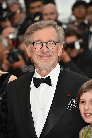 Steven Spielberg at 'The BFG' screening at the 69th International Cannes Film Festival, France<br /> May 14, 2016<br /> CAP/PL<br /> &copy;Phil Loftus/Capital Pictures / MediaPunch *** North American &amp; South American Rights Only***