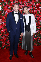 NEW YORK, NY - JUNE 10: Michael Arden, Andy Mientus  at the 72nd Annual Tony Awards at Radio City Music Hall in New York City on June 10, 2018.