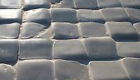 Giovanni Barbieri Timeworn Bianco Carrara 2 x 2 in. mosaic