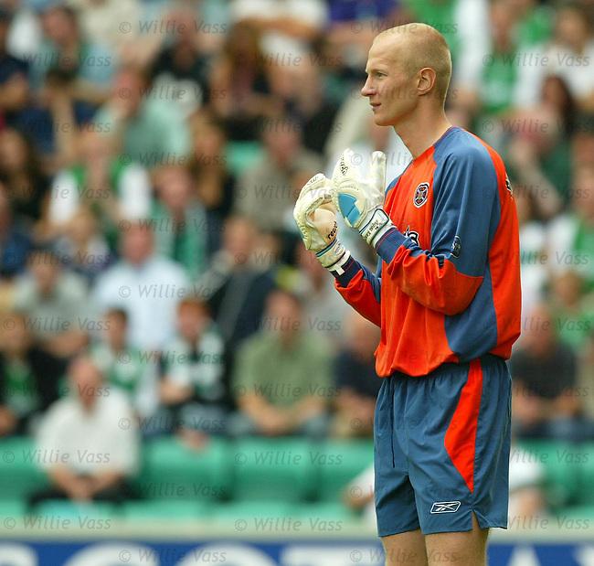 Tepi Moilanen, Hearts.stock season 2003-04..pic willie vass
