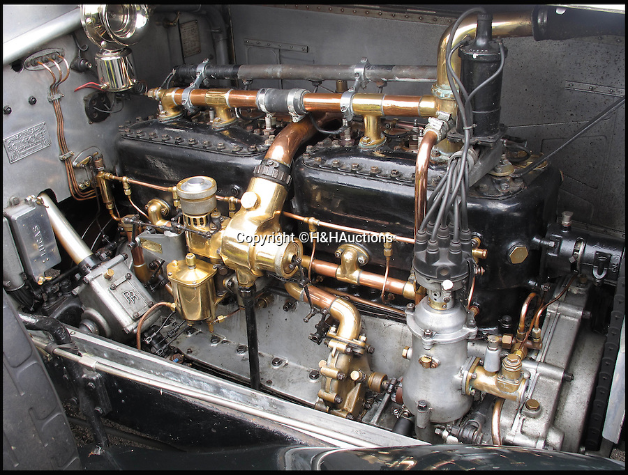 BNPS.co.uk (01202 558833)<br /> Pic: H&amp;H/BNPS<br /> <br /> Silky smooth 7412cc 40/50 hp engine...<br /> <br /> Rolls Royce Silver Ghost with a racey royal past.<br /> <br /> A Rolls-Royce car thought to have been used by controversial monarch Edward VIII to sneak his lover Wallis Simpson in and out of Royal estate Balmoral has emerged for sale for &pound;120,000.<br /> <br /> It is rumoured that Edward, who sparked a constitutional meltdown in 1936 when he abdicated the throne to be with the the American divorcee, had blinds fitted to the rear of the specially-built motor so they could travel without being spotted.<br /> <br /> The Silver Ghost car was a year old in 1922 when Edward, then the Prince of Wales, bought it to go on shooting parties at the Royal family's Highlands retreat.<br /> <br /> It is thought that at some point before becoming king and then abdicating the throne in 1936, Edward fitted blinds to the rear compartment of the car for privacy on romantic breaks to Balmoral with Simpson.<br /> <br /> It is tipped to fetch &pound;120,000 when it goes under the hammer at H &amp; H Classics.