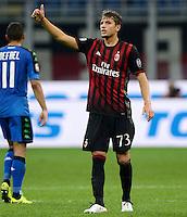Manuel Locatelli Milan OK<br /> Milano 2-10-2016 Stadio Giuseppe Meazza - Football Calcio Serie A Milan - Sassuolo. Foto Giuseppe Celeste / Insidefoto
