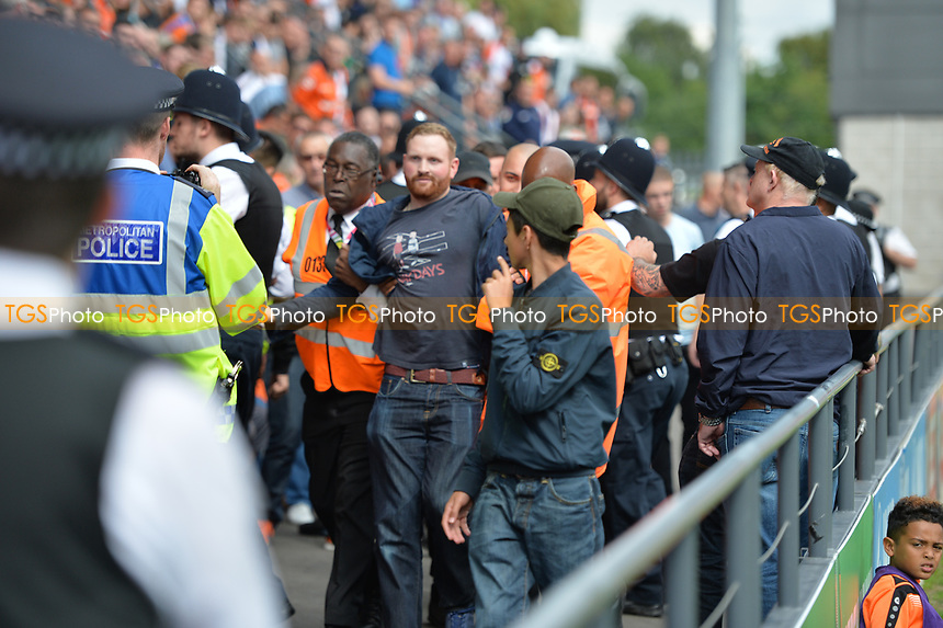Proud trouble during Barnet vs Luton Town, Sky Bet EFL League 2 Football at the Hive Stadium on 12th August 2017