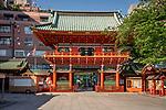 Kanda Myojin Shrine in Tokyo, Japan