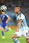 Marcos Rojo (ARG),<br /> JUNE 15, 2014 - Football / Soccer : FIFA World Cup Brazil 2014 Group F match between Argentina 2-1 Bosnia Herzegovina at Estadio do Maracana in Rio de Janeiro, Brazil.<br /> (Photo by Song Seak-In/AFLO)