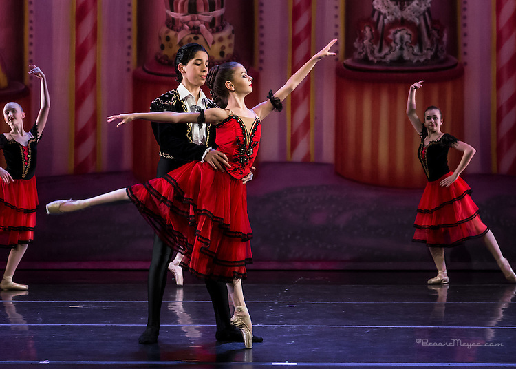 "Cary Ballet Company ""Nutcracker"", Dress Rehearsal. Wed , 14 Dec. 2016, Cary Arts Center, Cary, North Carolina."