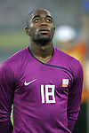 07 August 2008: Kenneth Vermeer (NED).  The men's Olympic soccer team of the Netherlands played the men's Olympic soccer team of Nigeria at Tianjin Olympic Center Stadium in Tianjin, China in a Group B round-robin match in the Men's Olympic Football competition.