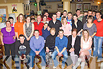 Chris Murphy Killorglin seated forth from left celebrated his 21st birthday with his family and friends in Bunkers bar Killorglin on Friday night