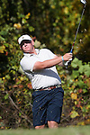 31 October 2016: UNCG's Bryce Hendrix. The Third Round of the 2016 Bridgestone Golf Collegiate NCAA Men's Golf Tournament hosted by the University of North Carolina Greensboro Spartans was held on the West Course at the Grandover Resort in Greensboro, North Carolina.