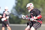 Palos Verdes, CA 03/30/10 -  Greg Fester (Palos Verdes #7) in action during the Palos Verdes-Peninsula JV Boys Lacrosse game.