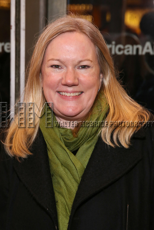 """Kathleen Marshall attends the Broadway Opening Night Performance of """"John Lithgow: Stories by Heart"""" at the American Airlines Theatre on January 11, 2018 in New York City."""