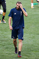 HARRISON, EUA, 21.07.2017 - BARCELONA-JUVENTUS - Giorgio Chiellini da Juventus durante treino um dia antes da partida contra o Barcelona pela International Champions Cup na Red Bull Arena na cidade de Harrison nos Estados Unidos nesta sexta-feira, 21. (Foto: William Volcov/Brazil Photo Press)