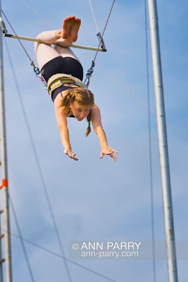 ELANA KURLANDER, PLAINVIEW,  (over 18) - East Meadow, New York, U.S.  27th June 2013. I Fly trapeze at Eisenhower Park.