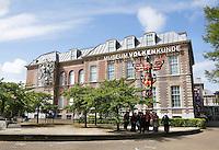 Nederland Leiden  2016 05 15. Het Museum Volkenkunde. Foto Berlinda van Dam /  Hollandse Hoogte