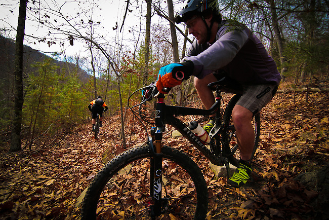 Bays Mountain Backcountry, rider Dale Shackelford