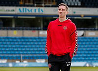 Fleetwood Town's Ashley Hunter pictured before the match<br /> <br /> Photographer Andrew Kearns/CameraSport<br /> <br /> The EFL Sky Bet League One - Wycombe Wanderers v Fleetwood Town - Saturday 4th May 2019 - Adams Park - Wycombe<br /> <br /> World Copyright © 2019 CameraSport. All rights reserved. 43 Linden Ave. Countesthorpe. Leicester. England. LE8 5PG - Tel: +44 (0) 116 277 4147 - admin@camerasport.com - www.camerasport.com