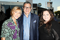 WEST HOLLYWOOD - SEP 21: Lynne Deutch, Irwin Deutch, Danni Dumburro at a screening of 'Wally's Will' with Linda Gray to benefit The Actors Fund at a Julien's Auctions on September 21, 2016 in West Hollywood, California