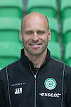 fysio Jan Arend Vredeveld of FC Groningen,