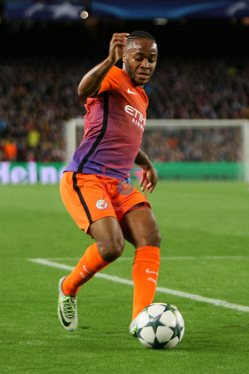 UEFA Champions League 2016/2017 - Matchday 3.<br /> FC Barcelona vs Manchester City FC: 4-0.<br /> Raheem Sterling.