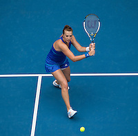 ANASTASIA PAVLYUCHENKOVA (RUS)<br /> Tennis - Australian Open - Grand Slam -  Melbourne Park -  2014 -  Melbourne - Australia  - 18th January 2014. <br /> <br /> &copy; AMN IMAGES, 1A.12B Victoria Road, Bellevue Hill, NSW 2023, Australia<br /> Tel - +61 433 754 488<br /> <br /> mike@tennisphotonet.com<br /> www.amnimages.com<br /> <br /> International Tennis Photo Agency - AMN Images