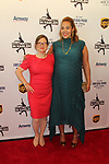 Sharon Cohen & honoree Jessica Betts Dreyfuss at Figure Skating in Harlem's Champions in Life (in its 21st year) Benefit Gala recognizing the medal-winning 2018 US Olympic Figure Skating Team on May 1, 2018 at Pier Sixty at Chelsea Piers, New York City, New York. (Photo by Sue Coflin/Max Photo)