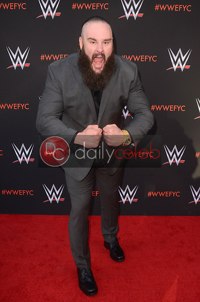 Braun Strowman<br /> at the WWE EMMY For Your Consideration Event, Saban Media Center, North Hollywood, CA 06-06-18<br /> David Edwards/Dailyceleb.com 818-249-4998