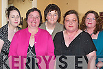 FUN: Having great fun at the Kerry Supporters Gala Dinner in Ballygarry House Hotel & Spa, Tralee on Saturday night were l-r: Siobha?n O'Shea (Glencar), Christina Casey (Cromane), Mary O'Shea (Glencar), Margaret O'Leary (Rathmore) and Maureen O'Leary (Gneeveguila).   Copyright Kerry's Eye 2008