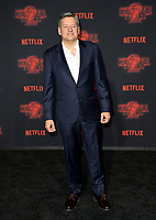 Ted Sarandos at the premiere for Netflix's &quot;Stranger Things 2&quot; at the Westwood Village Theatre. Los Angeles, USA 26 October  2017<br /> Picture: Paul Smith/Featureflash/SilverHub 0208 004 5359 sales@silverhubmedia.com