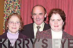 Enjoying the fundraising night for Fr. Tommy O'Hanlon's mission to Pakistan in Kirby's Lanterans Hotel on Saturday night were Jimmy and Peggie Wallace with their daughter Mary from Glin...    Copyright Kerry's Eye 2008