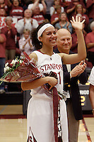 STANFORD, CA - FEBRUARY 20:  Rosalyn Gold-Onwude of the Stanford Cardinal during Stanford's 82-48 win over Oregon State on February 20, 2010 at Maples Pavilion in Stanford, California.