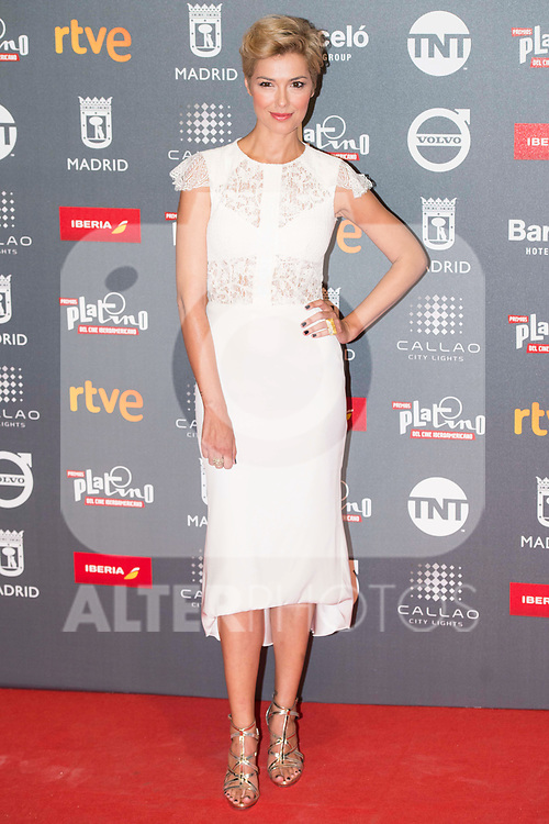 Cristina Urgel attends to welcome party photocall of Platino Awards 2017 at Callao Cinemas in Madrid, July 20, 2017. Spain.<br /> (ALTERPHOTOS/BorjaB.Hojas)