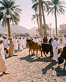 OMAN, Nizwa, the animal market in town that happens every friday.