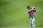 Saraporn Chamchoi of Thailand chips into the 12th green during Round 2 of the World Ladies Championship 2016 on 11 March 2016 at Mission Hills Olazabal Golf Course in Dongguan, China. Photo by Victor Fraile / Power Sport Images