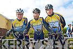 DOLMEN CC: Members of the Dolmen cycling club taking part in the Lacey Cycling Cup on Sunday l-r: Cyril Keane, David Dowall and Aidan Considine..