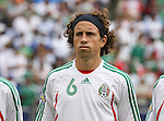 10 June 2007: Mexico's Gerardo Torrado. The Honduras Men's National Team defeated the National Team of Mexico 2-1 at Giants Stadium in East Rutherford, New Jersey in a first round game in the 2007 CONCACAF Gold Cup.