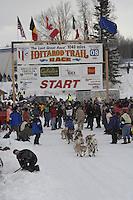 Ramey Smyth Willow restart Iditarod 2008.