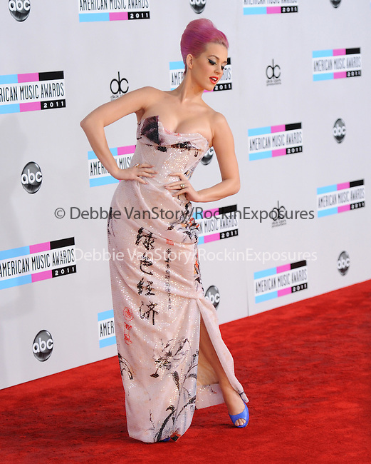 Katy Perry Brand attends 2011 American Music Awards held at The Nokia Theater Live in Los Angeles, California on November 20,2011                                                                               © 2011 DVS / Hollywood Press Agency