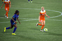Orlando, FL - Thursday June 23, 2016: Denise O'Sullivan during a regular season National Women's Soccer League (NWSL) match between the Orlando Pride and the Houston Dash at Camping World Stadium.