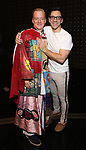 Ryan Worsing and Michael Beresse during the Actors' Equity Opening Night Legacy Robe  honoring Ryan Worsing for 'The Cher Show' at The Neil Simon Theatre on December 3, 2018 in New York City.