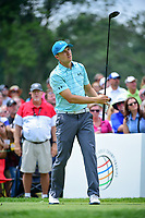 Jordan Spieth (USA) during Friday's round 2 of the World Golf Championships - Bridgestone Invitational, at the Firestone Country Club, Akron, Ohio. 8/4/2017.<br /> Picture: Golffile | Ken Murray<br /> <br /> <br /> All photo usage must carry mandatory copyright credit (&copy; Golffile | Ken Murray)