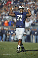 12 November 2011:  Penn State DT Devon Still (71)..The Nebraska Cornhuskers defeated the Penn State Nittany Lions 17-14 at Beaver Stadium in State College, PA..