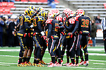 University of Maryland Football<br /> <br /> Credit: Greg Fiume